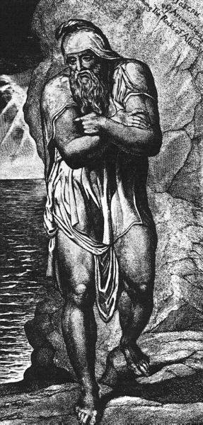 Wm. Blake's Joseph of Arimathea Among The Rocks of Albion