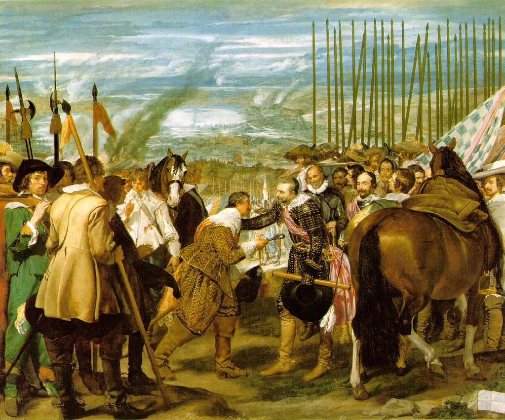 Velazquez's Surrender of Breda