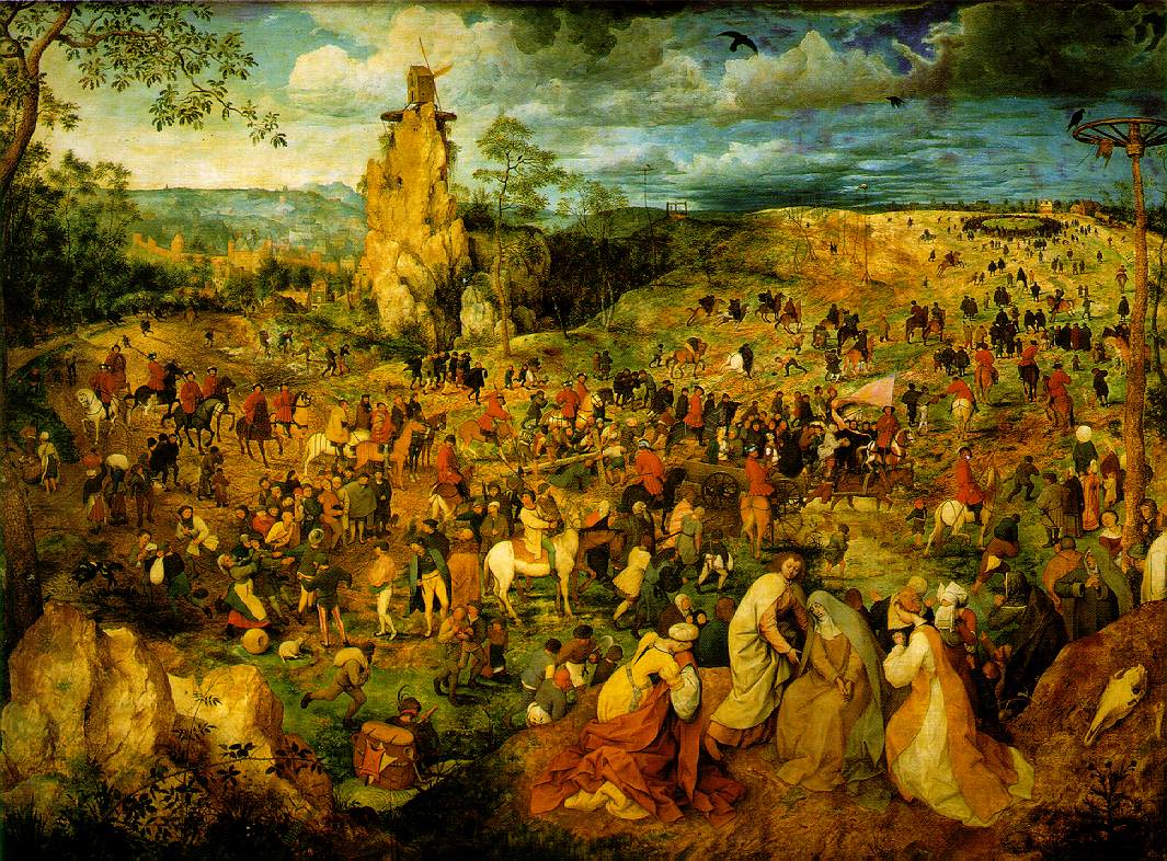 Bruegel's Procession To Calvary