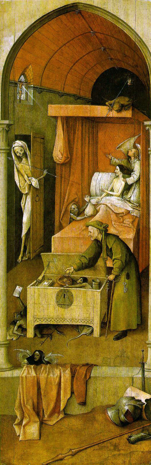 Bosch's Death And The Miser