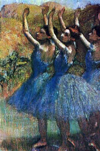 Degas's Three Dancers