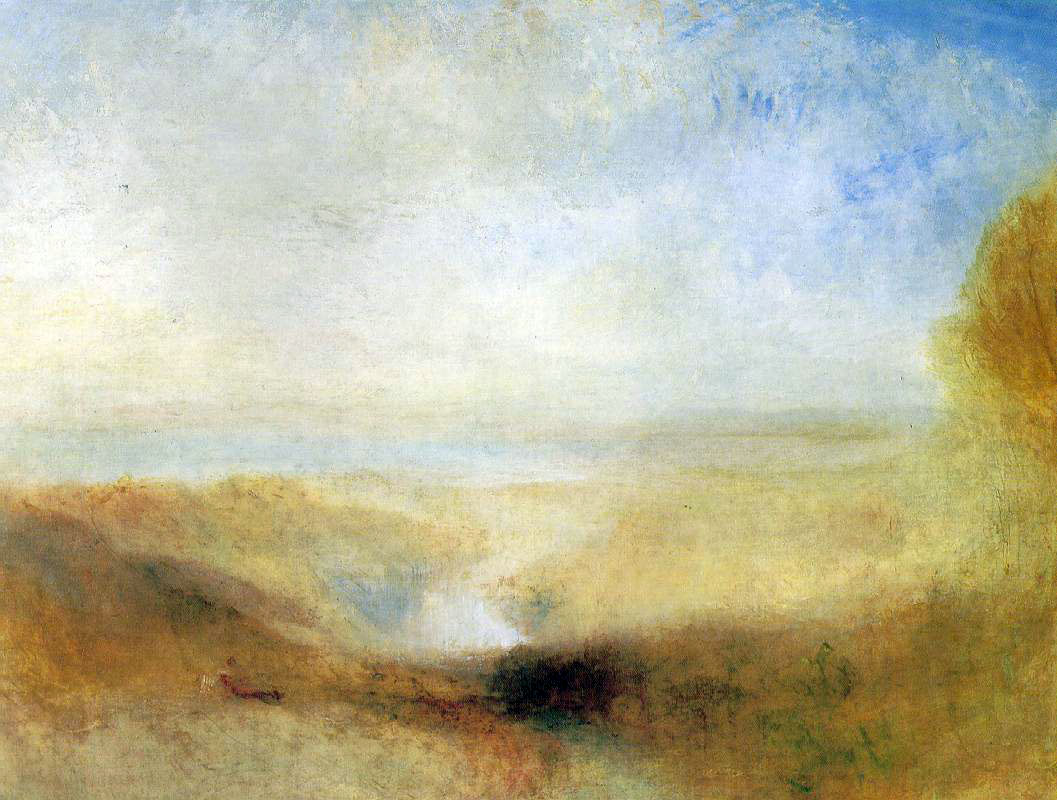 Turner's Landscape With Distant River & Bay