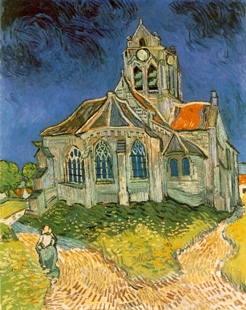 van Gogh's Church at Auvers-sur-Oise