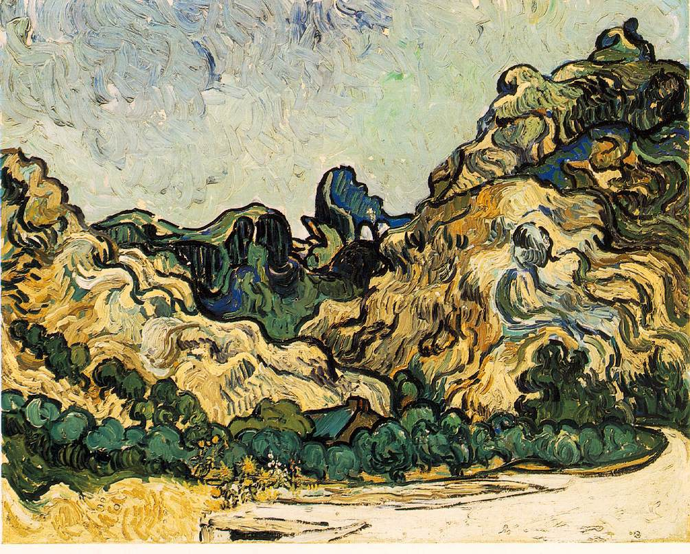 van Gogh's Mountains At Saint-Remy