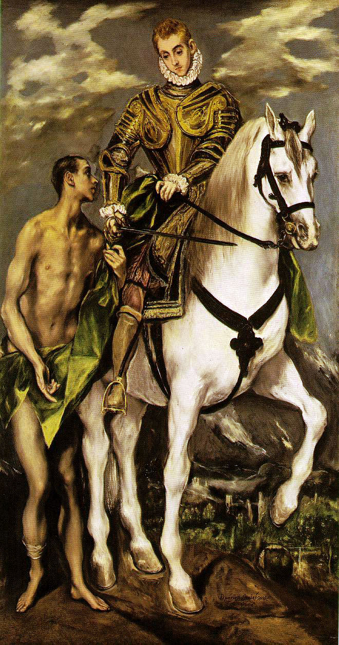 el Greco's St. Martin and The Beggar