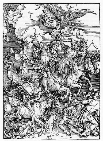 Durer's Four Horsemen of The Apocalypse