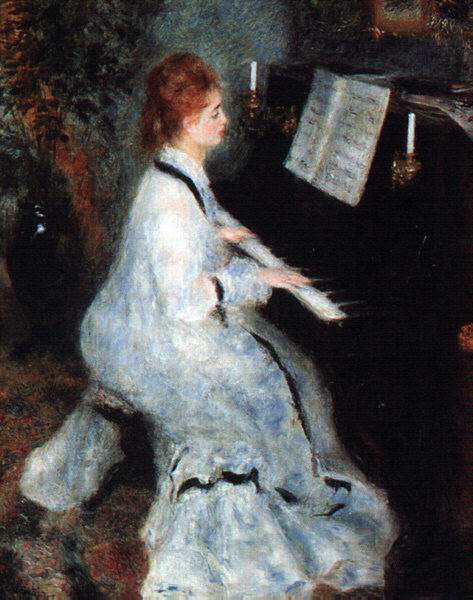 Renoir's Lady At The Piano