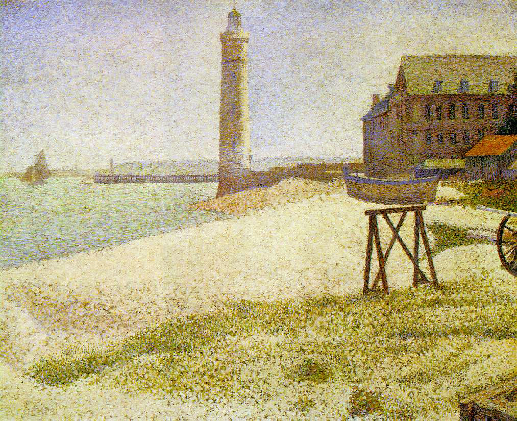 Seurat's Lighthouse At Honfleur