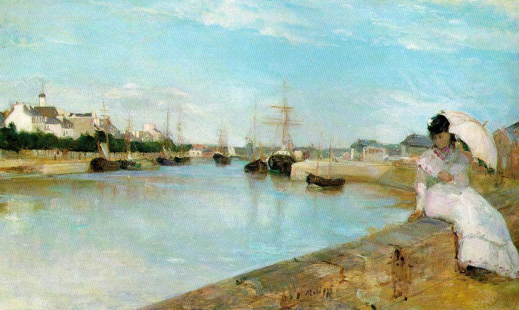 Morisot's The Harbor At Lorient