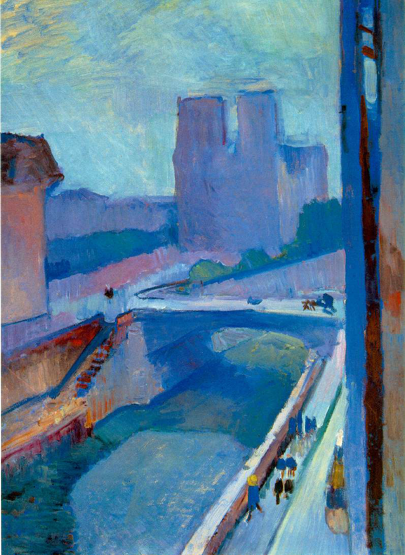 Matisse's Glimpse of Notre Dame In The Late Afternoon