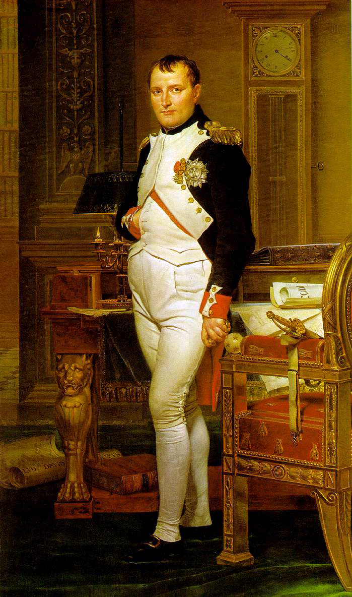 David's Napoleon In His Study