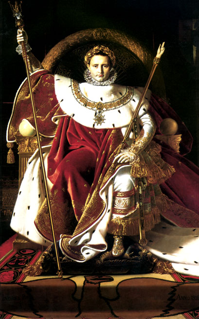 Ingres's Napoleon On His Imperial Throne
