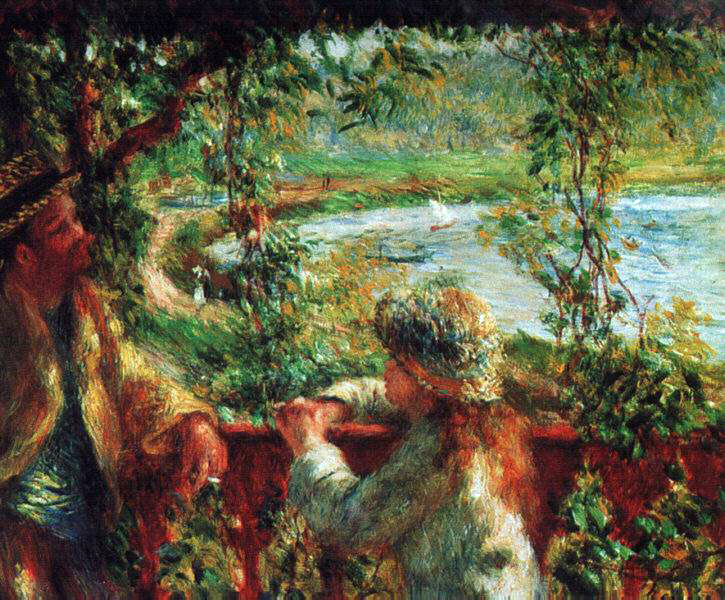Renoir's Near The Lake