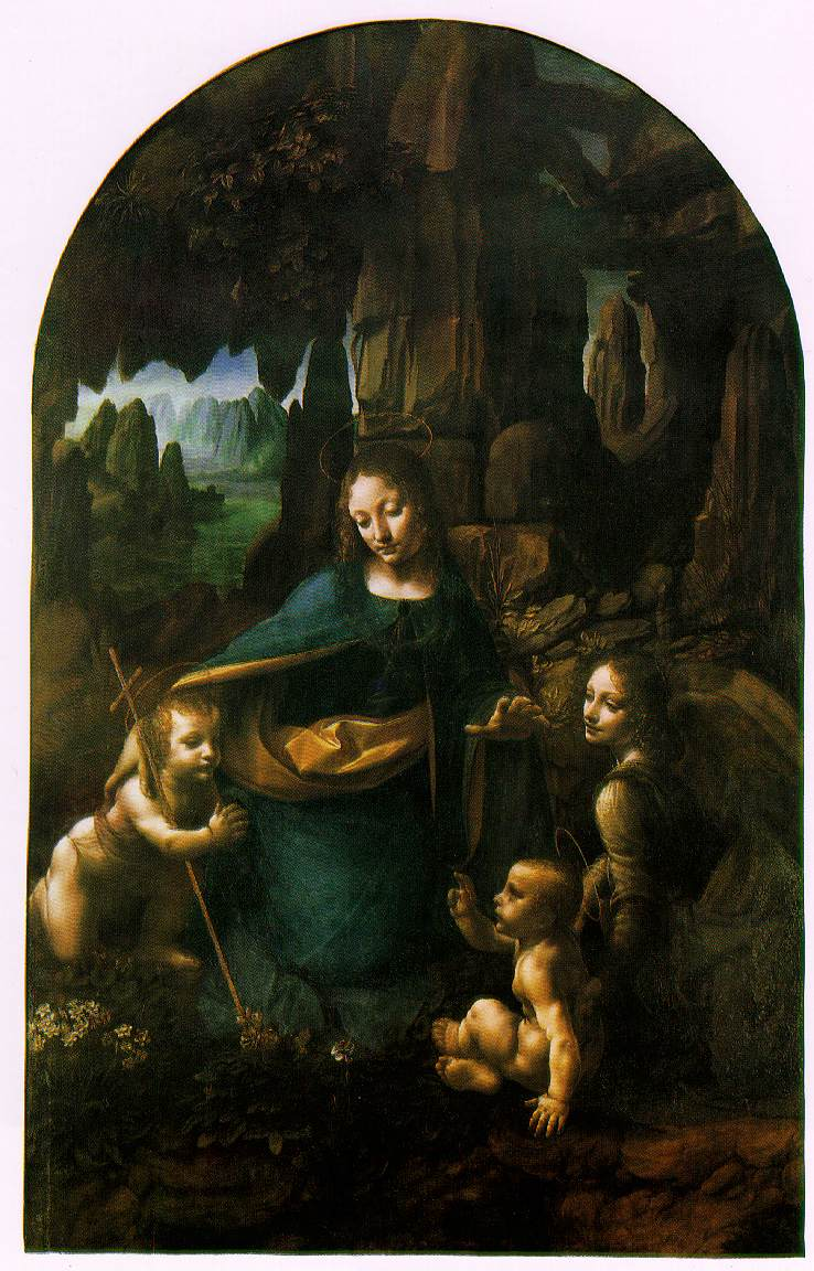 da Vinci's Virgin Of The Rocks