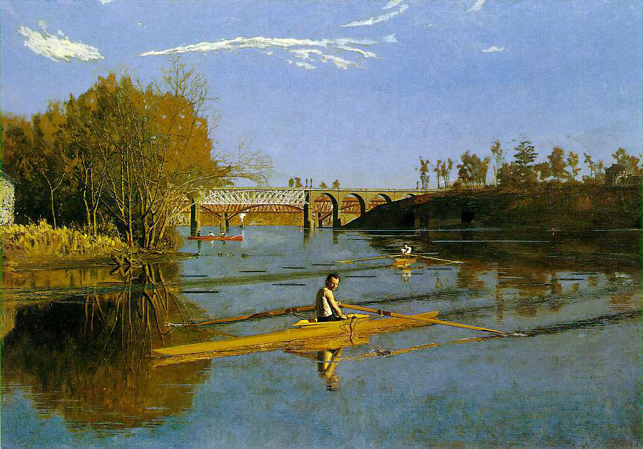 Thomas Eakins's Max Schmitt In A Single Scull