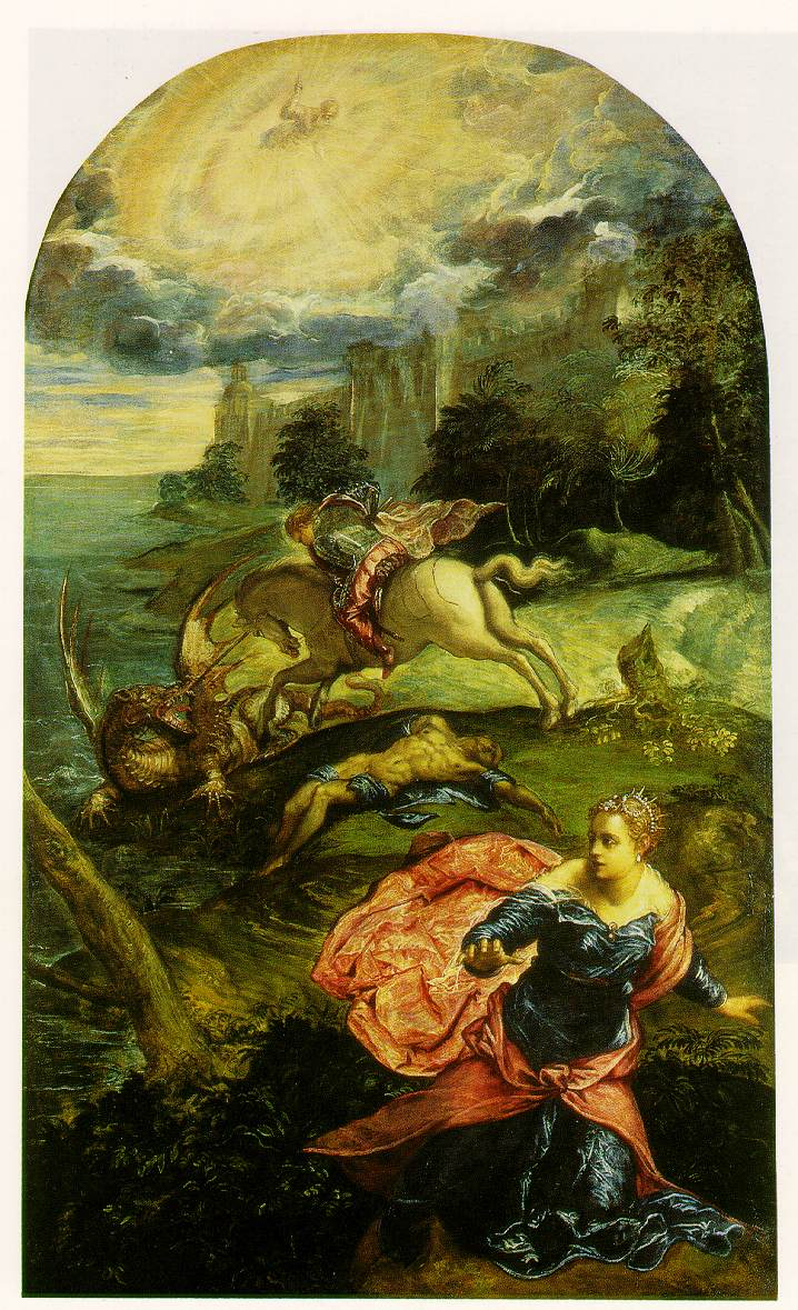 Tintoretto's St. George & The Dragon