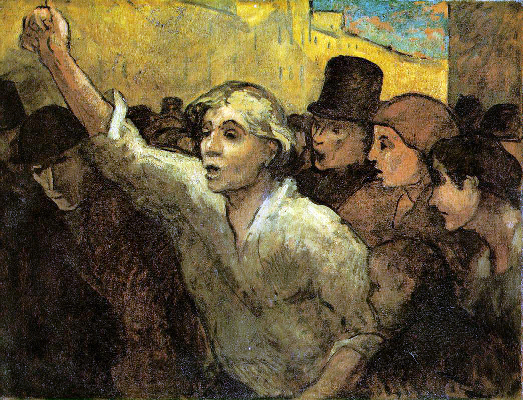 Daumier's The Uprising