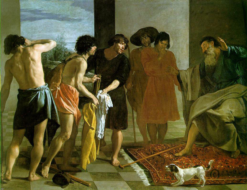 Velasquez's Joseph's Bloody Coat Brought to Jacob