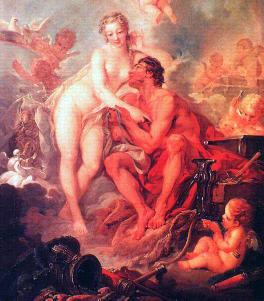 Boucher's Visit of Venus To Vulcan