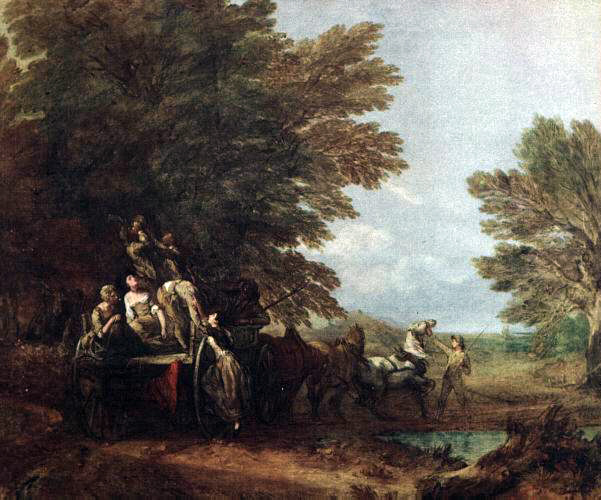 Gainsborough's The Harvest Wagon